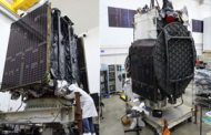 Northrop-Built Galaxy 30 Comms Satellite, Mission Extension Vehicle Arrive at Launch Site