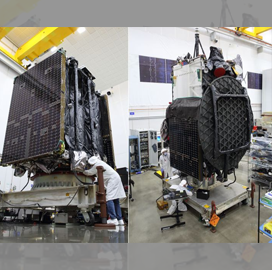 Northrop-Built Galaxy 30 Comms Satellite, Mission Extension Vehicle Arrive at Launch Site - top government contractors - best government contracting event