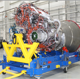 Blue Origin Delivers First BE-4 Engine for New ULA Rocket - top government contractors - best government contracting event