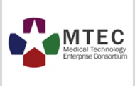 Medical Technology Enterprise Consortium Hints at Potential COVID-19 Contracts
