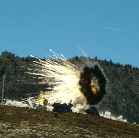 airburst ammunition