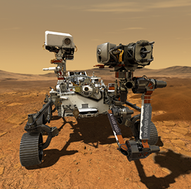 Perseverance Mars rover