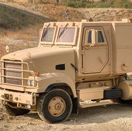 heavy tactical truck