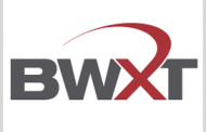 BWXT Subsidiary to Produce Nuclear Fuel for DOE Reactor Project