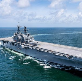 ExecutiveBiz - HII Completes Delivery of LHA 7 Amphibious Assault Ship to Navy