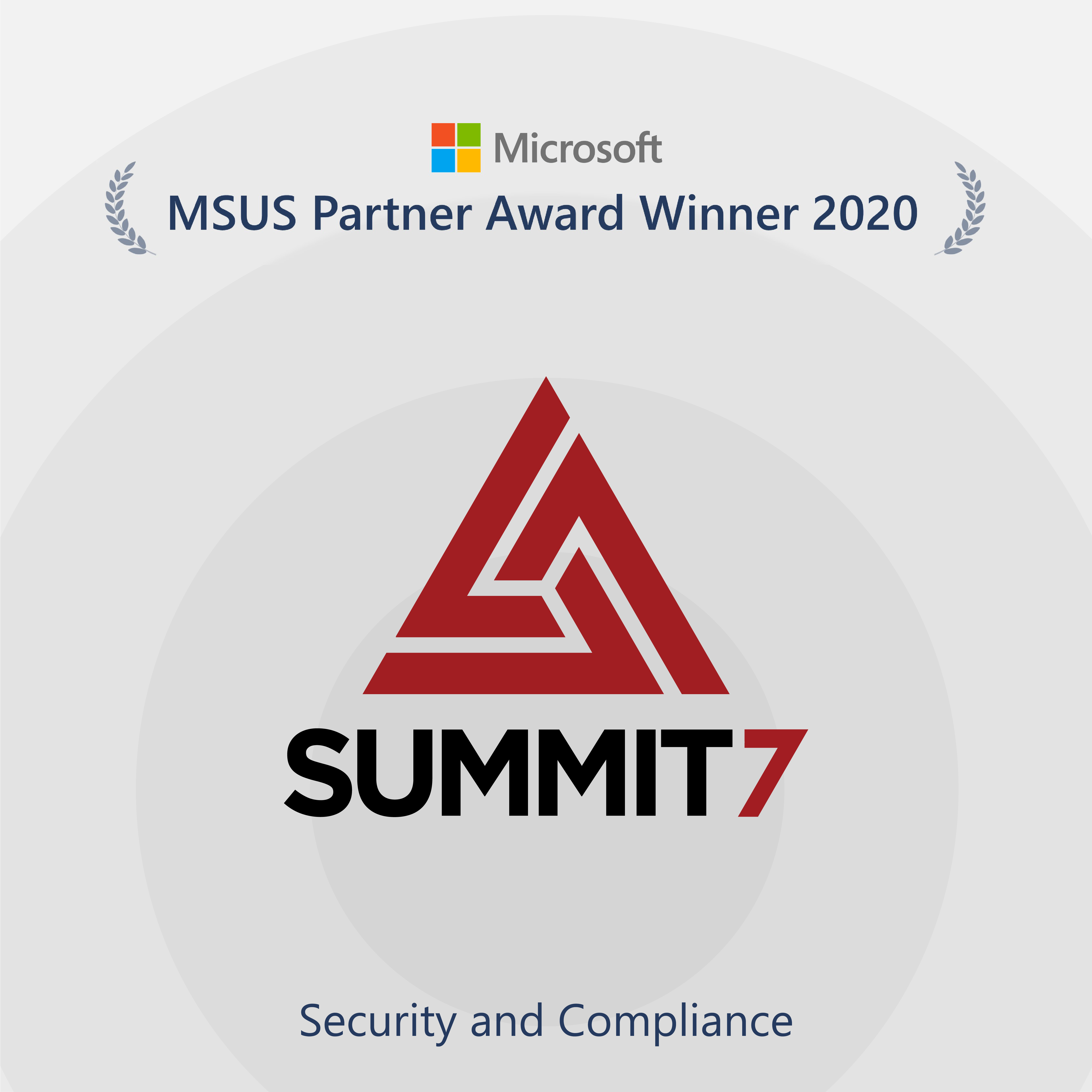 Summit 7 Receives Microsoft US Partner Award for Security, Compliance; Scott Edwards, Ben Curry Quoted - top government contractors - best government contracting event