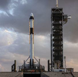 SpaceX Targets April Launch for Third Air Force GPS III Satellite - top government contractors - best government contracting event