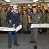 HII Readies Kennedy Carrier for Crew Training With Compartment Turnover - top government contractors - best government contracting event