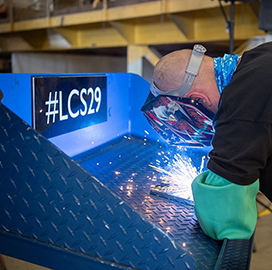 LCS 29 keel laying