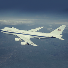 Air Force Eyes Potential Contracts Worth $76M for E-4B Aircraft Replacement - top government contractors - best government contracting event