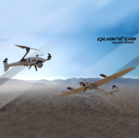 Auterion, Quantum-Systems Aim to Introduce Small UAS Platforms to US Gov't Sector - top government contractors - best government contracting event