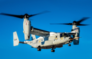 Navy Receives CMV-22B Aircraft from Bell-Boeing Team