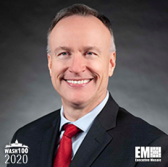 Chris Brady, President of General Dynamics Mission Systems, Named to 2020 Wash100 for Driving Innovation in Enterprise Data, Military and Defense Technology - top government contractors - best government contracting event