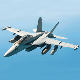 Boeing, Navy Demonstrate Autonomous Use of Growler Aircraft - top government contractors - best government contracting event
