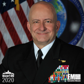 VADM Robert Sharp, NGA Director, Named to 2020 Wash100 for Developing NGA's Strategic Initiatives for Emerging Technologies - top government contractors - best government contracting event