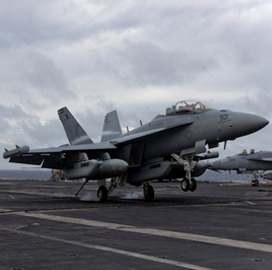Navy's Growler Aircraft Completes Maiden Flight With Raytheon Technologies' Next-Gen Jamming System