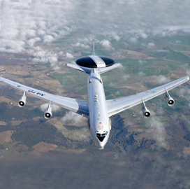 Boeing to Update Air Force Early-Warning Aircraft's Comm Tech