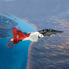 Saab Begins Production of T-7A Aircraft Component - top government contractors - best government contracting event
