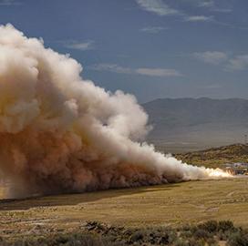 Northrop Tests New Motor for ULA's Vulcan Centaur Rocket