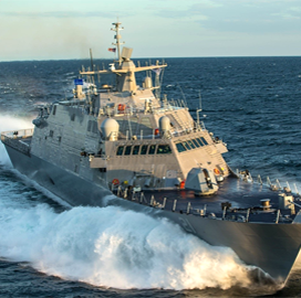 Lockheed Wraps Up Acceptance Trials for Navy's 11th Freedom-Variant LCS