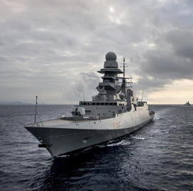 Fincantieri Presents Bid for Initial Navy Frigate - top government contractors - best government contracting event