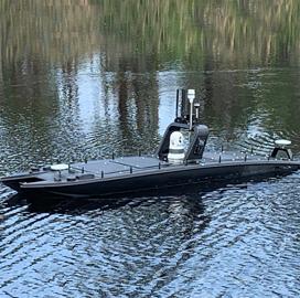 4 Firms Win Navy USV Sonar Tech Assessment Orders