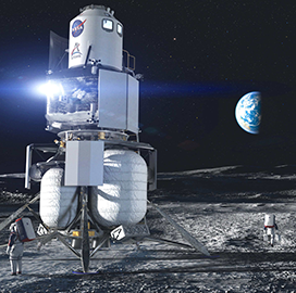 Blue Origin-Led Industry Team Concludes System Req's Review for Human Landing System Concept