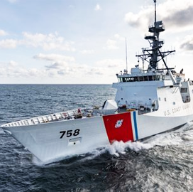 HII Puts Ninth Legend-Class National Security Cutter Through Sea Trials