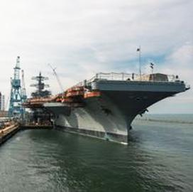 HII Begins Steam Test, Finishes Potable Water Restoration for USS George Washington