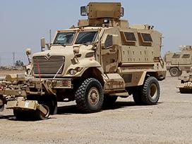 MRAP vehicles