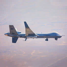 General Atomics Demos Remotely Piloted Aircraft's Comms Payload