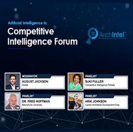 ArchIntel-Hosted Panel Discussion Highlights Influence of AI in Competitive Intelligence