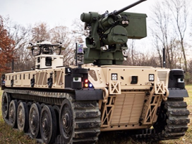 Robotic Combat Vehicle L QinetiQ