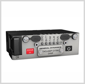 GDMS Unveils TACLANE Encryptor for Tactical Comms