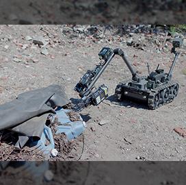 FLIR Gets Military Orders for 250 Centaur Explosive Disposal Robots