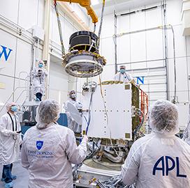 Johns Hopkins APL Helps Equip DART Spacecraft With NASA-Made Propulsion Tech