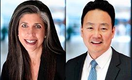 Jean Stack and John Song, managing directors of Baird
