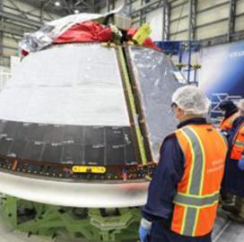 Orbital Flight Test 2 Crew Module