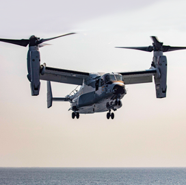 PAE Gets USAF Task Order for Osprey Aircraft Maintenance Services