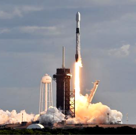 SpaceX Sends Classified NRO Satellite Into Orbit