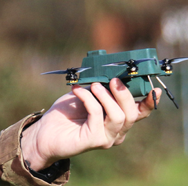 BAE-UAVTEK Team Showcases Nano Drone Tech at UK Army Warfighting Experiment