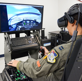 Eric Frahm: DIU, USAF Aim to Overcome Pilot Training Limitations With Commercial Tech