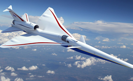 X-59 QueSST supersonic aircraft