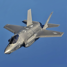 Lockheed-Led Team Receives $1.3B Global F-35 Sustainment Contract