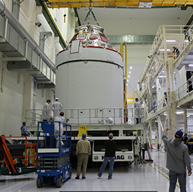 Lockheed's Orion Spacecraft Concludes Assembly, Testing for NASA's Artemis Mission to Lunar Orbit