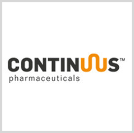 DOD Taps Continuus for Onshore Production of Active Pharmaceutical Ingredients