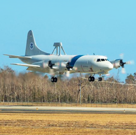 Northrop Inducts CBP Orion Aircraft for Depot Level Maintenance