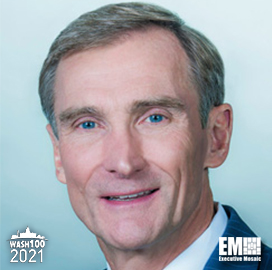Leidos Chairman, CEO Roger Krone Becomes First Eight Time Wash100 Award Winner