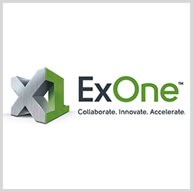 ExOne to Deliver Self-Contained 3D Printing Pod to DOD