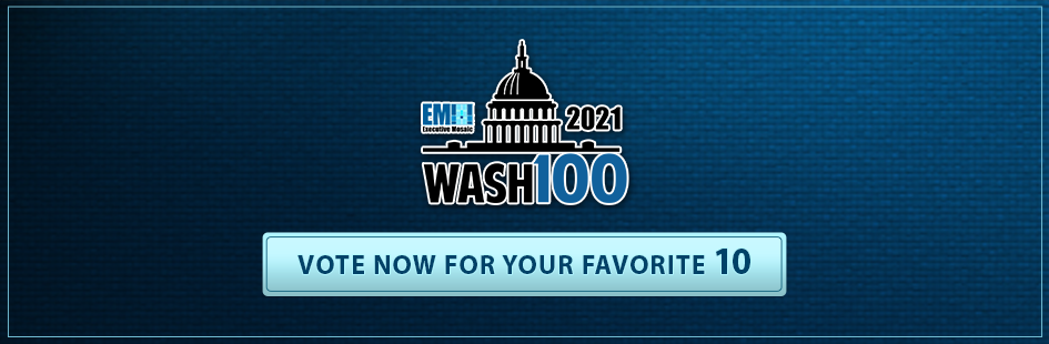 BigBear.ai CEO Reggie Brothers Receives 2021 Wash100 Award for Expanding Tech Solutions through Major Acquisitions - top government contractors - best government contracting event